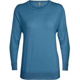 Icebreaker Mira - T-shirt manches longues Femme - bleu